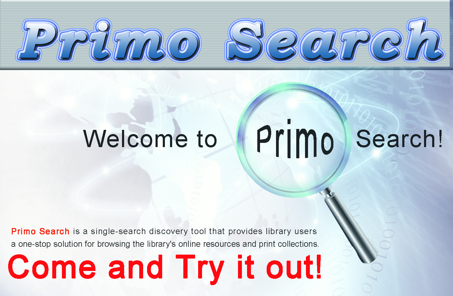 library website picture design_primo