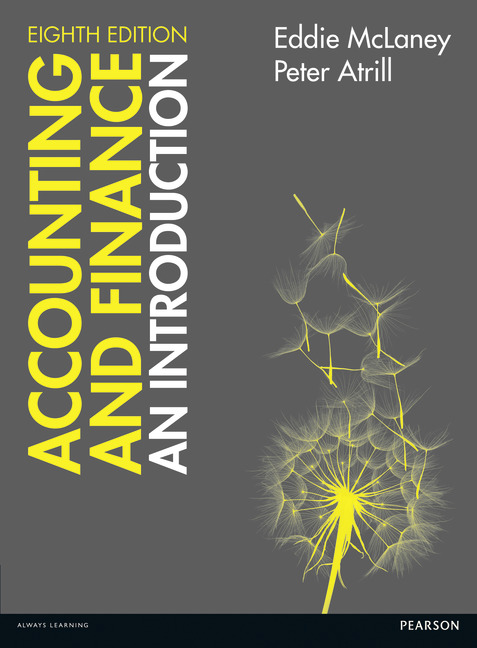 Accounting and finance : an introduction / Eddie McLaney and Peter Atrill.