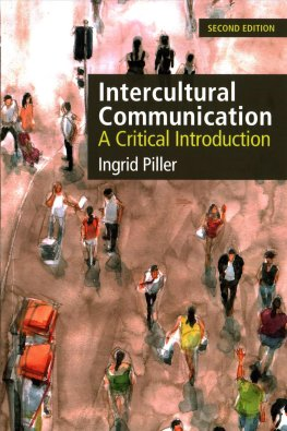 Intercultural communication : a critical introduction