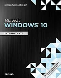 Microsoft Windows 10 : intermediate
