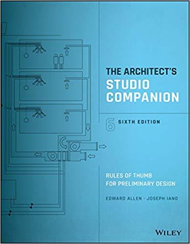 The architect's studio companion : rules of thumb for preliminary design