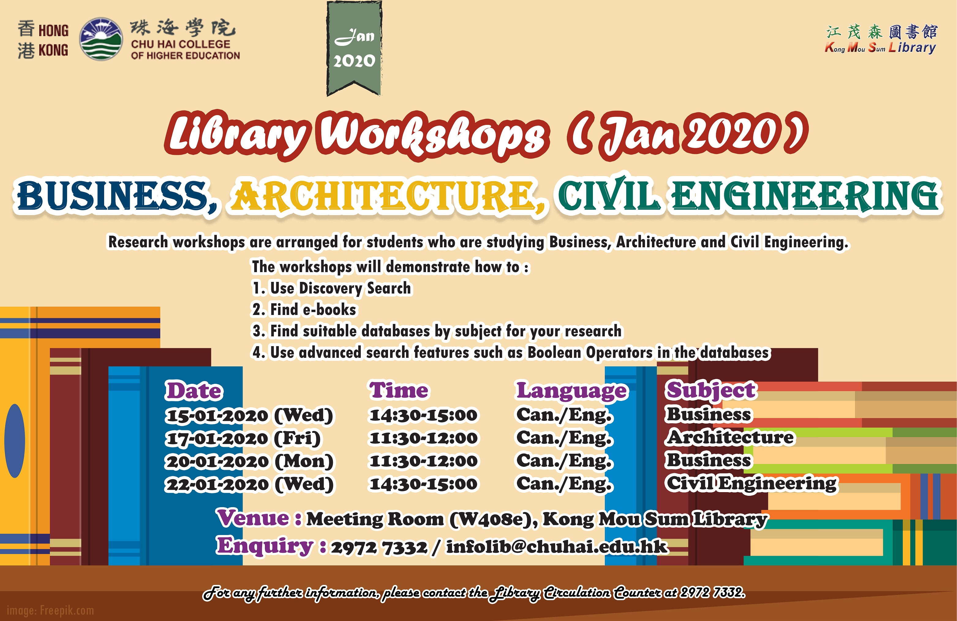 Business, Architecture and Civil Engineering Workshop (Online po